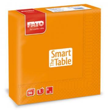 Servetele 33x33 cm, 2 straturi, Smart Table Orange, Fato