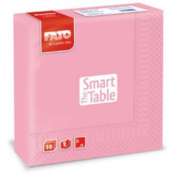 Servetele 33x33 cm, 2 straturi, Smart Table Pink, Fato