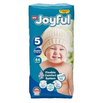 Scutece copii Joyful, 44 buc/set, Marime 5, Junior, 11-25kg de la Europe One Dream Trend Srl