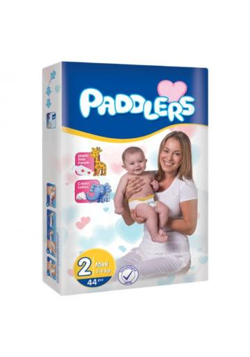 Scutece copii Paddlers, marime 2, 240 buc/set, Mini, 3-6 kg de la Europe One Dream Trend Srl