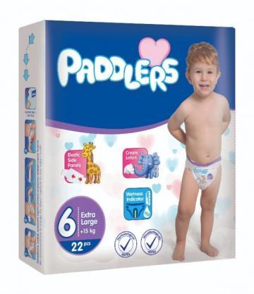 Scutece copii Paddlers,Marime6, 152 buc/set, XLarge, 16-35kg de la Europe One Dream Trend Srl