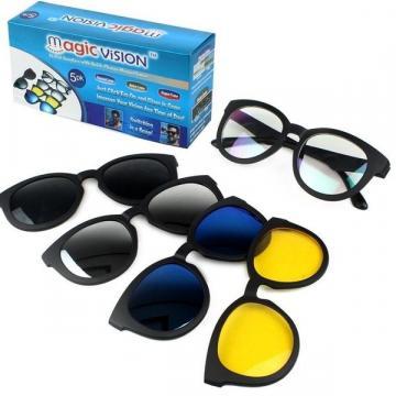 Ochelari de soare 5-in-1 cu lentile interschimbabile