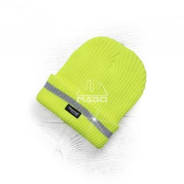 Caciula de iarna tricotata + fleece Hi-Vis Spark de la Mabo Invest