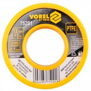 Banda teflon Vorel 75201, lungime 12 m de la Viva Metal Decor Srl
