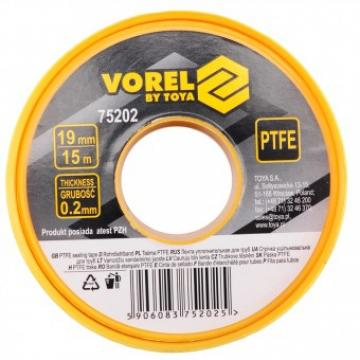Banda teflon Vorel 75202, lungime 15 m de la Viva Metal Decor Srl