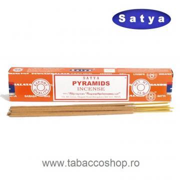 Betisoare parfumate Satya Pyramids 15g de la Maferdi Srl