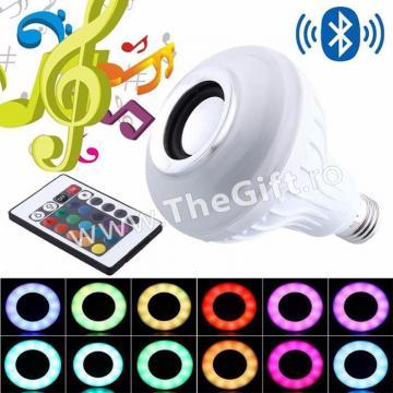 Boxa-Bec bluetooth LED, jocuri de lumini si telecomanda de la Thegift.ro - Cadouri Online