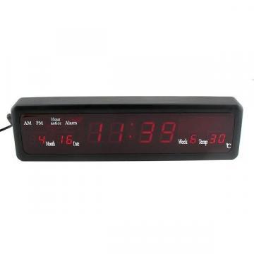 Ceas digital cu LED-uri CX-808 de la Www.oferteshop.ro - Cadouri Online