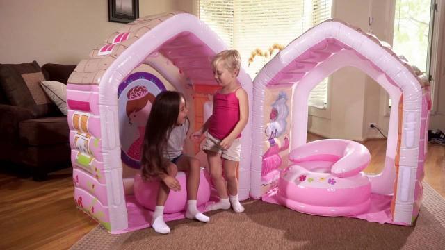 Centru de joaca pentru copii casuta, fotoliu si taburet