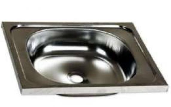 Chiuveta baie inox ERT-C417 de la Preturi Rezonabile