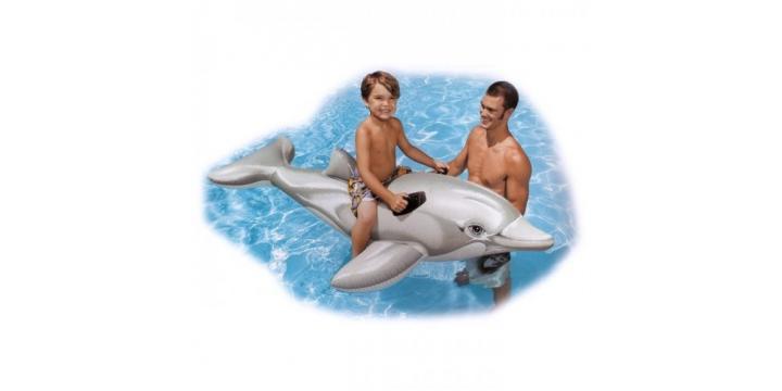 Jucarie Delfin Gonflabil Intex pentru copii