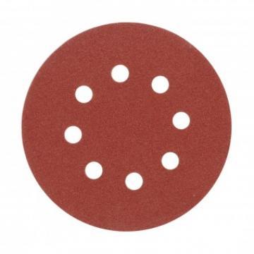 Discuri abrazive cu orificii 125mm GR80, 5 buc, Vorel 08578