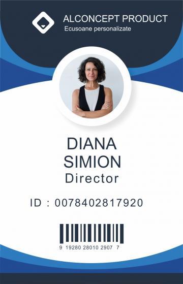 Ecusoane, legitimatii personalizate de la Alconcept Product SRL