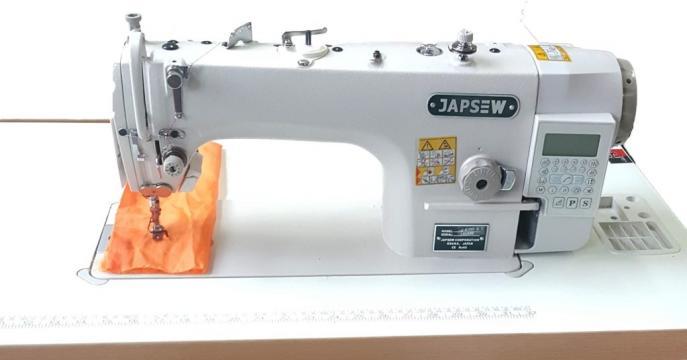 Masina de cusut liniara full automata Japsew J-8700-B-7 de la Senior Tex