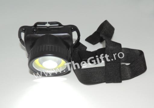 Lanterna frontala 3W COB LED, lumeni de la Thegift.ro - Cadouri Online