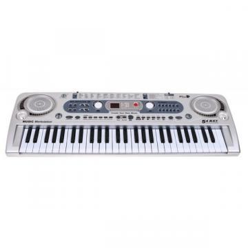 Orga electronica cu 54 clape MQ-824USB, microfon si USB/MP3