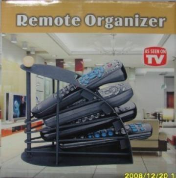 Organizator pentru telecomenzi Remote Organizer de la Www.oferteshop.ro - Cadouri Online