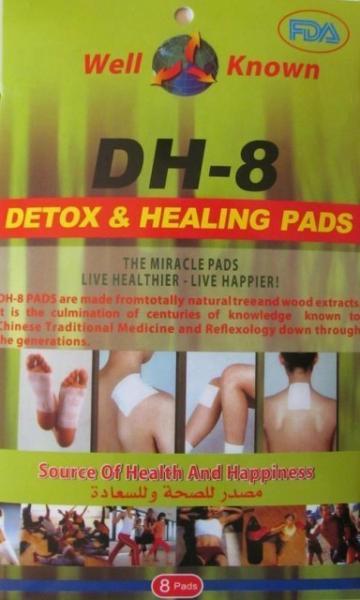 Plasturi pentru vindecare si detoxifiere Detox Healing DH-8 de la Www.oferteshop.ro - Cadouri Online