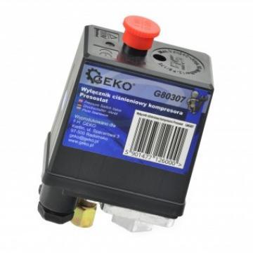 Presostat pentru compresoare Geko G80307, 12 Bar de la Viva Metal Decor Srl