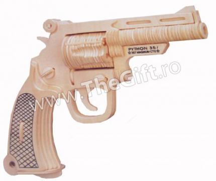 Puzzle 3D pistol Python de la Thegift.ro - Cadouri Online