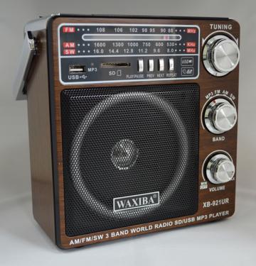 Radio MP3/USB/SD Waxiba XB-921UR