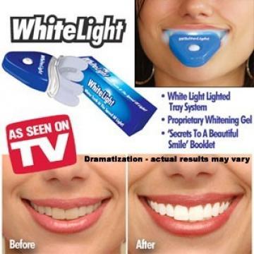 Set pentru albirea dintilor White Light de la Www.oferteshop.ro - Cadouri Online