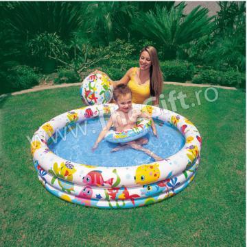 Piscina, minge si colac gonflabil copii de la Thegift.ro - Cadouri Online