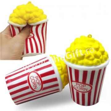 Jucarie cu revenire lenta, popcorn parfumat Squishy de la Thegift.ro - Cadouri Online