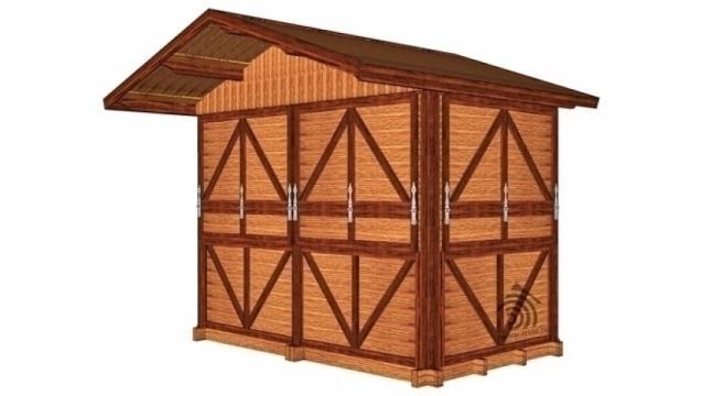Ghereta mini din lemn de la Korondi Arcso Srl