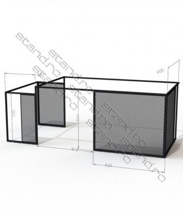 Structura metalica mobilier birou 5122 de la Rolix Impex Series Srl