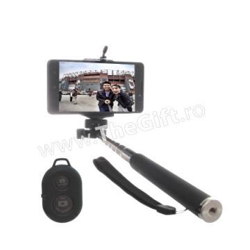Suport Selfie, cu telecomanda wireless