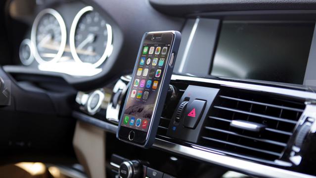 Suport magnetic auto reglabil pentru telefon/tableta/gps