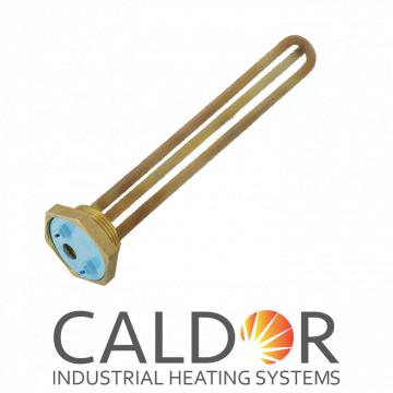 Rezistenta boiler 1500W dreapta, din cupru, cu filet, 30 cm de la Caldor Industrial Heating Systems Srl