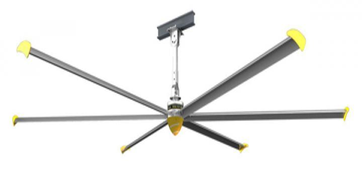 Ventilator de tavan PV6100I Ceiling fan diameter 6120mm de la Ventdepot Srl