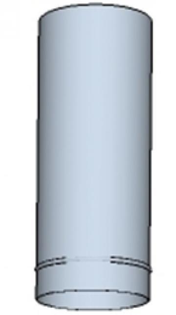 Tub rotund din otel inoxidabil 350 500mm