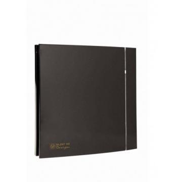 Ventilator de baie Silent-100 CZ Black Design - 4C