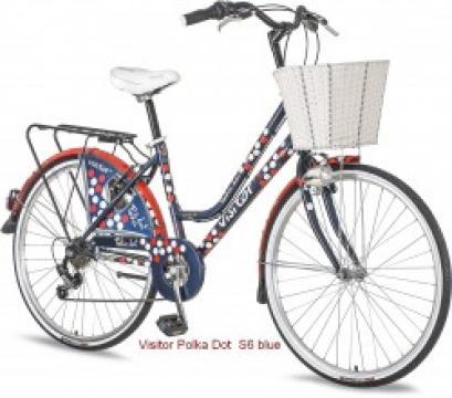 Bicicleta Visitor Polka Dot de la Nogal Srl