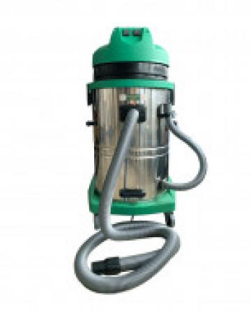 Aspirator industrial umed - uscat cu doua motoare 60 L de la Maer Tools