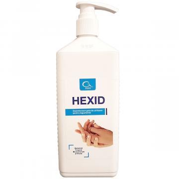 Dezinfectant si antiseptic maini si tegumente, Hexid