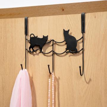 Cuier de usa metal - pisici de la Plasma Trade Srl (happymax.ro)