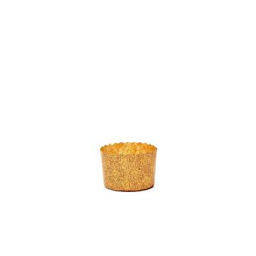 Forma din hartie pentru copt mini-panettone 70g de la Cristian Food Industry Srl.