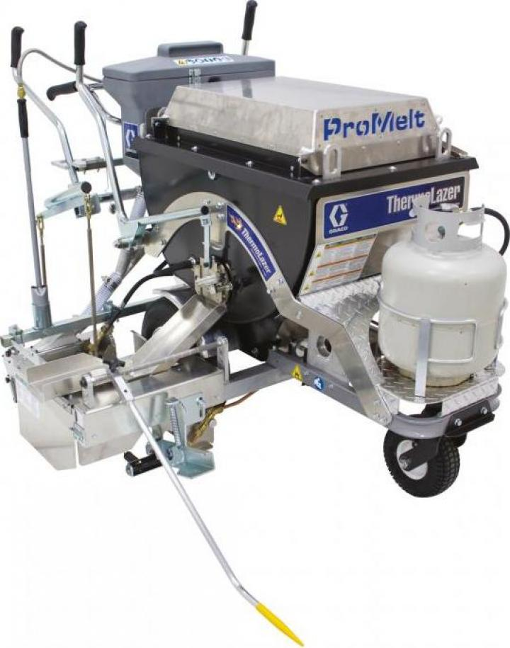 Masina marcaj rutier termoplast Graco Promelt