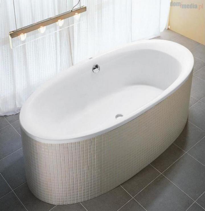 Cada baie ovala de incastrat 180x85 cm