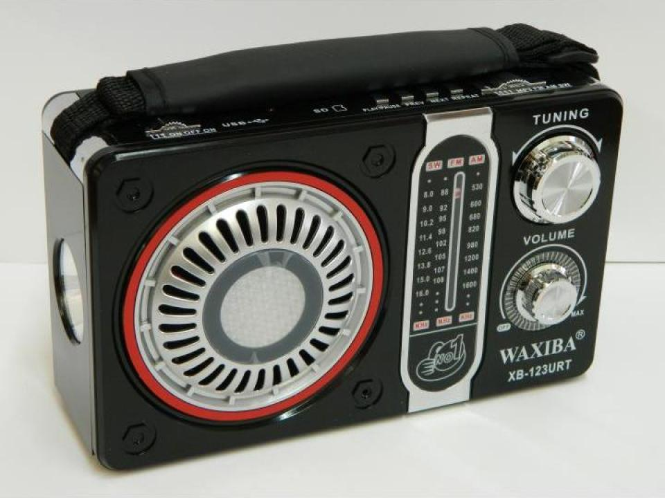 Radio MP3/USB/SD Waxiba XB-123URT