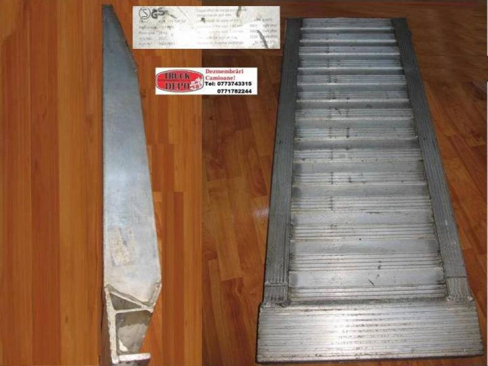 Rampe de aluminiu