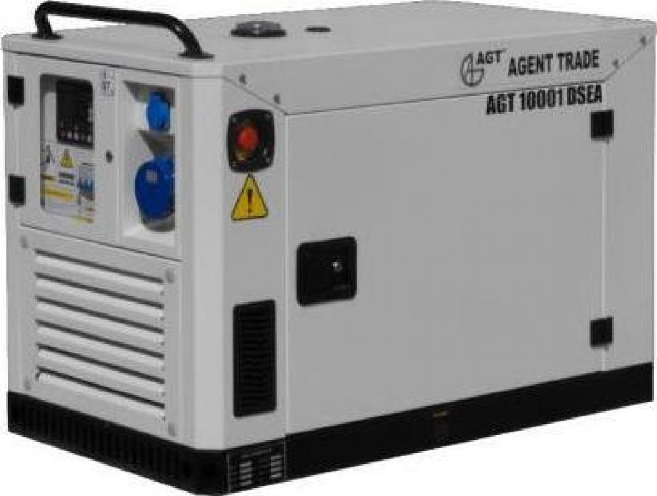 Generator electric cu automatizare AGT 10001 DSEA