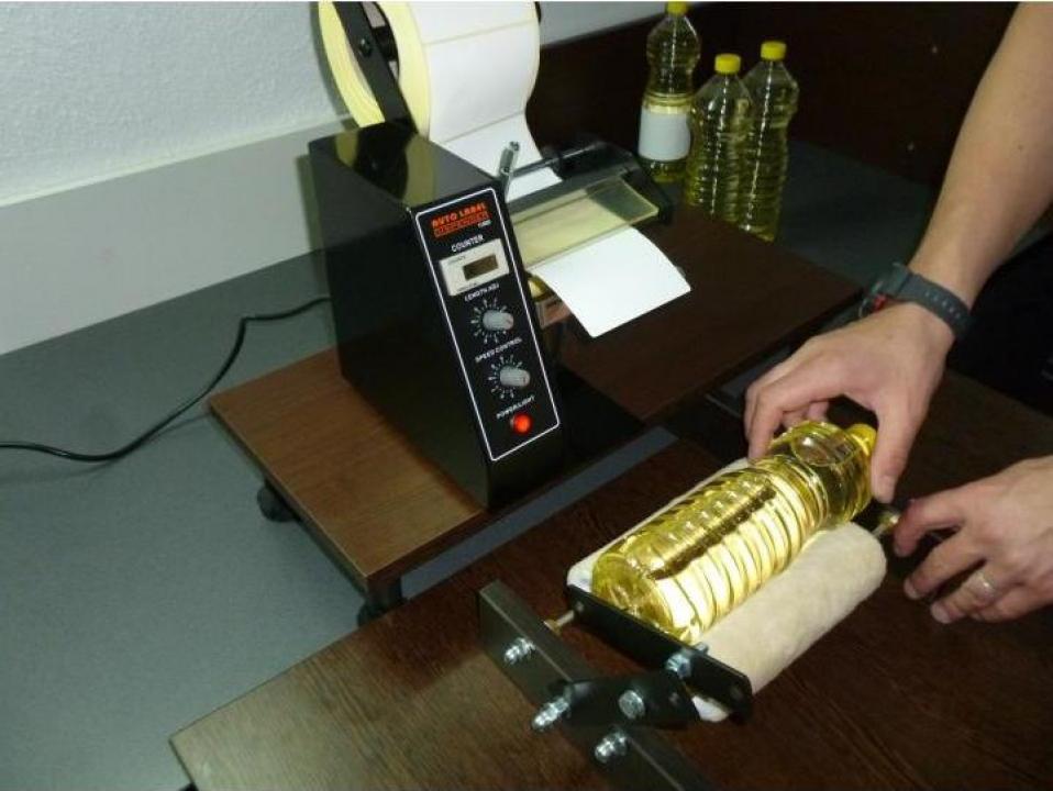 Dispenser - aplicator etichete de diferite dimensiuni
