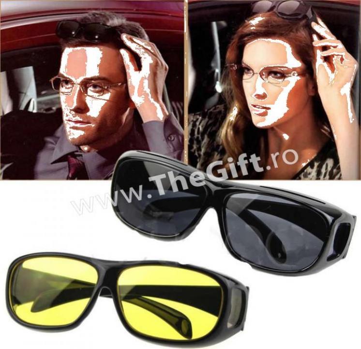 Set ochelari HD Vision, zi si noapte