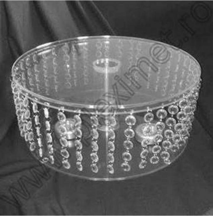 Suport de tort cu cristale acrilice SPEv 26