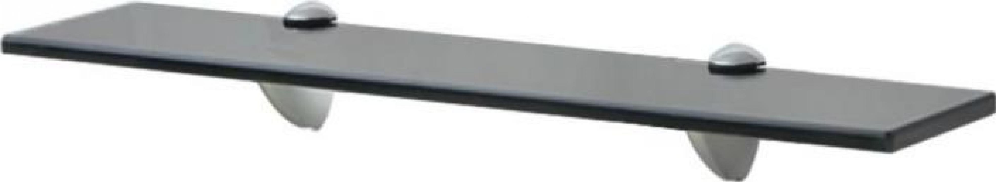 Raft suspendat din sticla, 50 x 20 cm, 8 mm